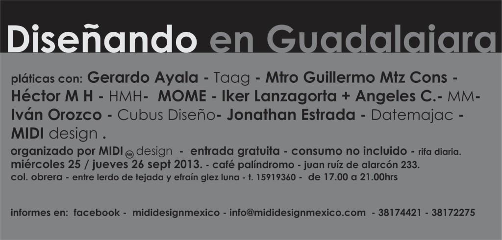 diseñando en Gdl MIDI
